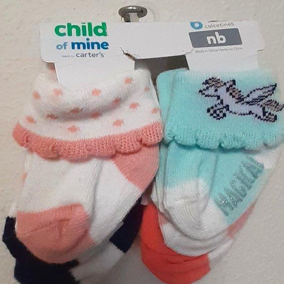 Nwt Baby Socks Newborn Baby gift carters